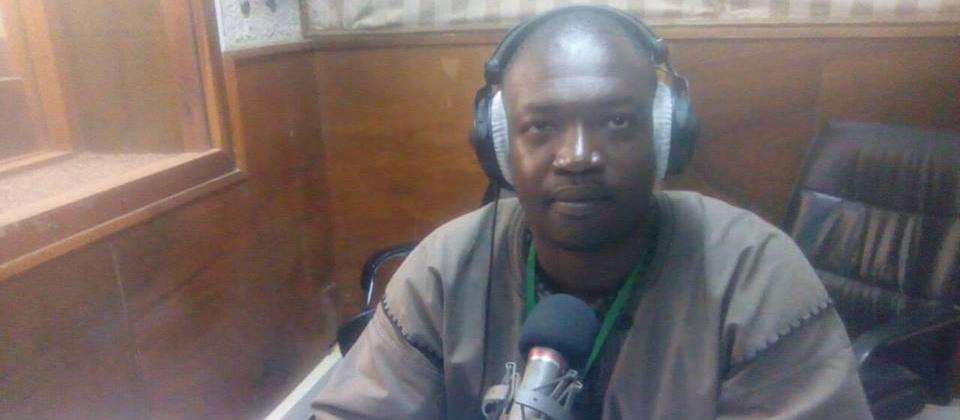 Carl Franck Nikiéma à la radio